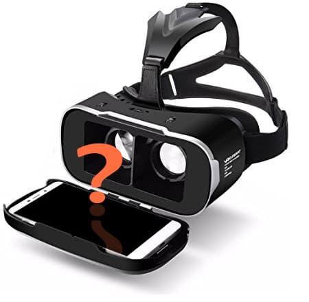 Smartphone für VR