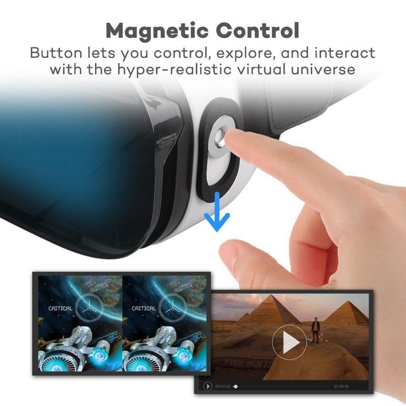 HooToo 3D VR Box Magnetschalter