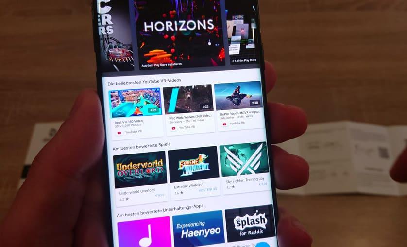 VR mit einem Handy - Google Daydream App