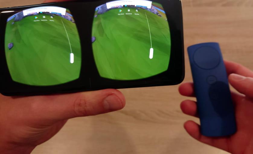 VR mit einem Handy - VR Fernbedienung