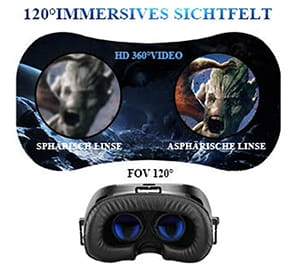 YEMENREN HD Virtual Reality 3D VR Headset