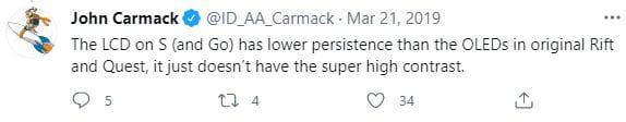 John Carmack LCD Displays Twitter